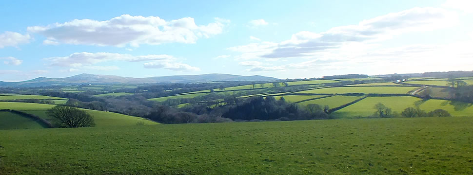 Views around the parish of Inwardleigh